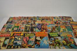 Comics by DC, Atlas, Charlton and Gold Key.