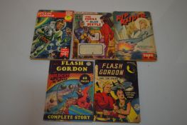 Flash Gordon; The Jack of Spades; Rip Raider and other action series.