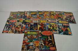 Power of Shadows; Amazing Adventures; and other Marvel comics.