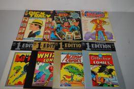 DC famous 1st and large-format limited Collectors' editions.