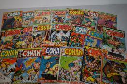 Conan The Barbarian by Marvel Comics.