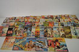 British War, Romance, Sci-Fi and Thriller Digest Comics.