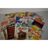 MAD Magazine; other issues, Panic; and other humour magazines.