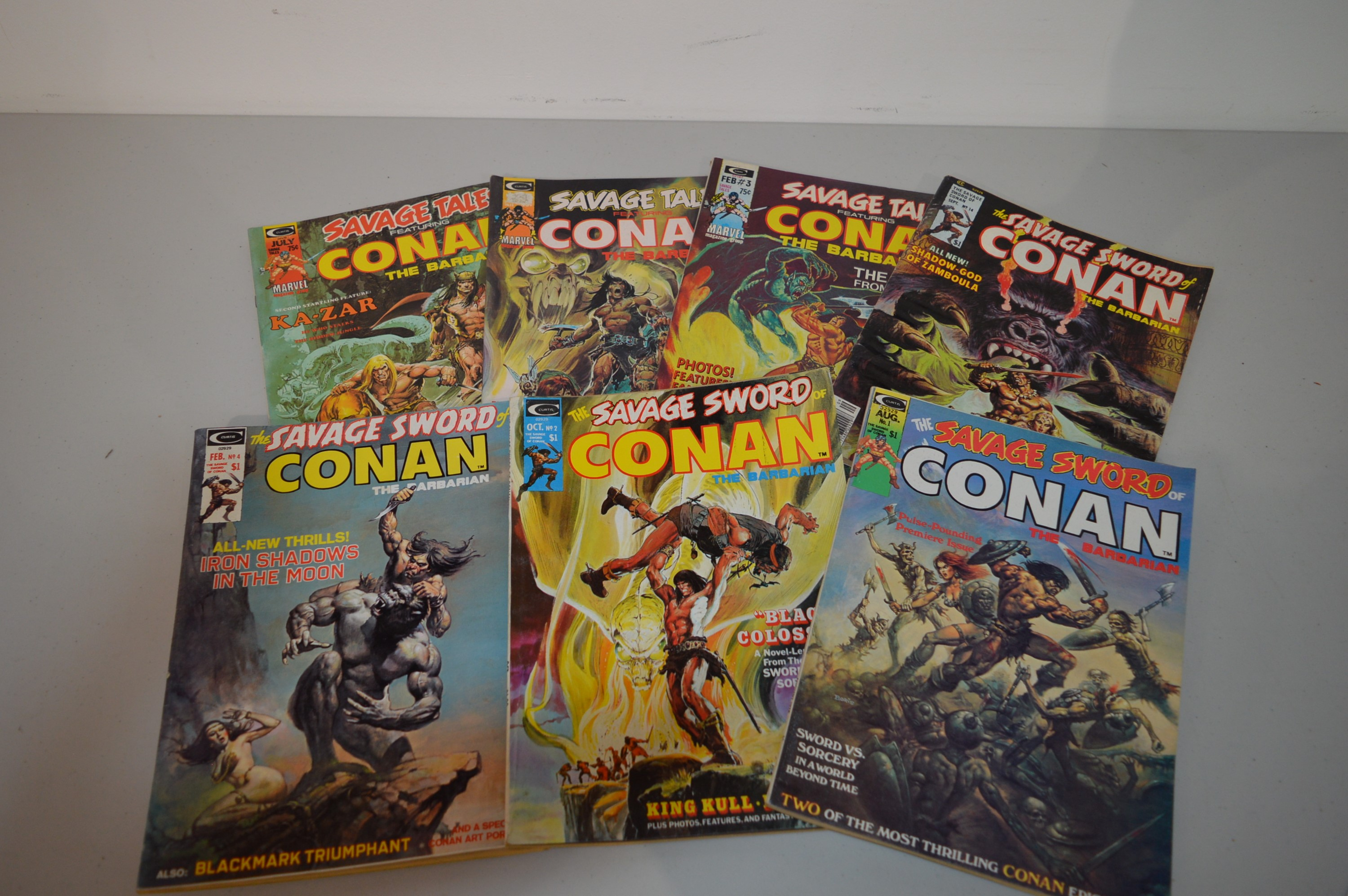 Savage Tales Featuring Conan and others.