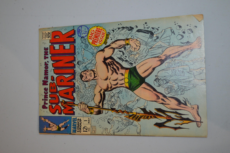 The Sub-Mariner, Marvel Comics 1967.