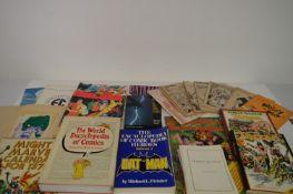 Comics Albums in hardback and softback.