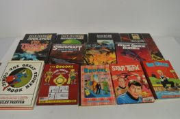 Dandare Pilot of the Future; and other comics-related books.