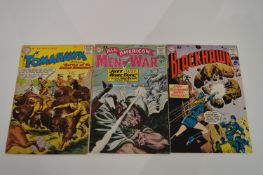 Tomahawk and other adventure comics.