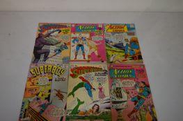 Action Comics, Superman and Superboy.