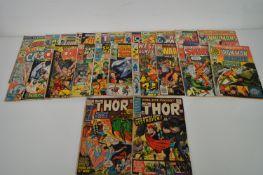 The Mighty Thor, Conan, Sub-Mariner and sundry marvel titles.