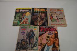 Psycho Comics and Psycho Annual.