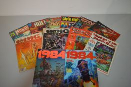 Monsters Unleashed, The Hulk, Marvel Movie Premier; and other comics magazines.