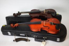 Maidstone Violin and a Chinese Violin