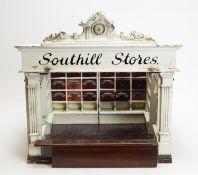 "Moritz Gottschalk: a Victorian shop ""Southill Stores""; and shop counter."