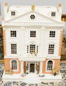 """A 1/12th scale four-storey doll's house """"Ormiston Hall""""."""
