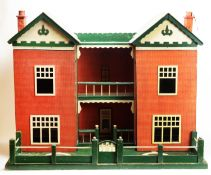 Hobbies of Dereham: a double-bay fronted doll's house.