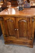 'Oakwood' of Chester, a good quality media cabinet
