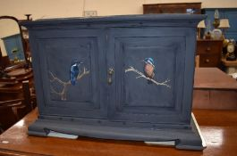 A small side cabinet
