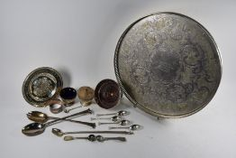 Various silver oddments