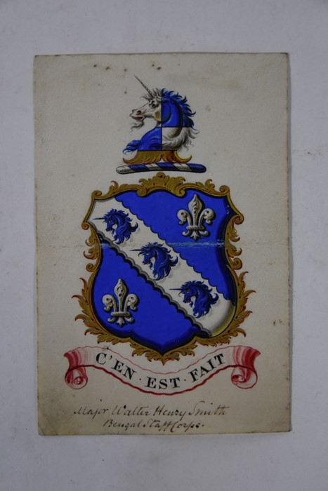 Victorian Grant of Arms - Image 6 of 18