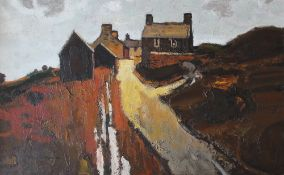 Donald McIntyre Y Rhiw Oil on Board Signed 61.