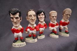 Groggs - A collection of five resin World of Groggs Minis, including Dai Morris, Rupert Moon,