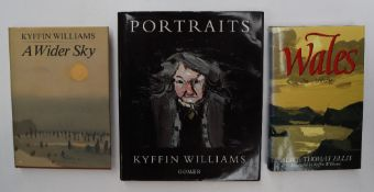 "Kyffin Williams - Portraits, 1996, inscribed and signed ""For Bob & Margaret, with very best wishes,"