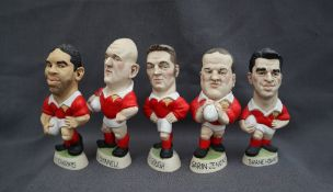 Groggs - A collection of five resin Millenium Grogg Minis, including Ian Gough, Craig Quinnell,