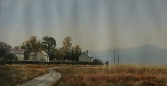 Andrew Douglas Forbes Penclawdd Watercolour Signed and dated '94 Inscribed verso 28.