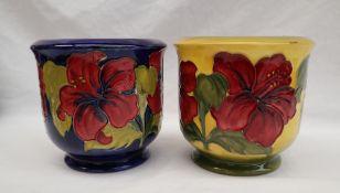 A Moorcroft pottery jardiniere,
