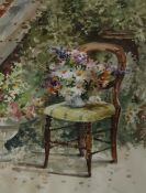 Andrew Douglas Forbes Are you sitting comfortably Watercolour Signed,