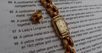 A Lady's Longines wristwatch,