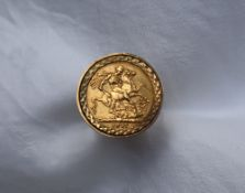 A Victorian young head gold sovereign, dated 1877,