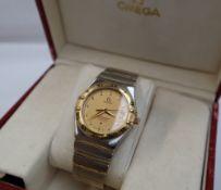 A Gentleman's Omega Constellation Chronometer automatic wristwatch,