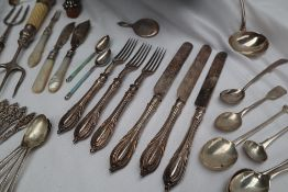 A George III silver ladle, London, 1794, Thomas Northcote & George Bourne,