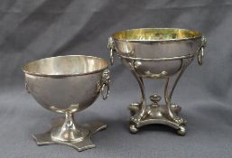 A Danish silver standing bowl,