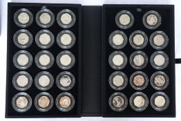 The Royal Mint - London 2012 Olympics silver 50p Sports Collection,
