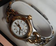 A Lady's Tag Heuer Professional 200M wristwatch, with a white dial, batons and date aperture at 3,