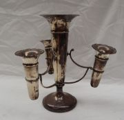 A George VI silver epergne,