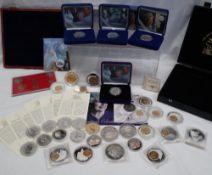 Royal Mint - A 2006 Her Majesty Queen Elizabeth II Eightieth Birthday Silver proof crown,