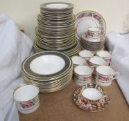 A Royal Doulton Vanborough H4992 pattern part dinner set together with a Royal Worcester Royal