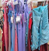 A collection of Emily Fox and Rosetta Nicolini dresses