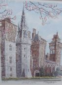 Cardiff Castle A print Together with a collection of pictures and prints
