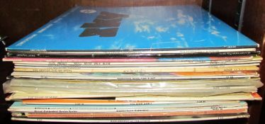 A collection of 78's of Classical music together with LP's etc
