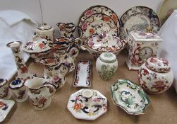 Assorted Masons pottery including Mandalay pattern, Stratford pattern,