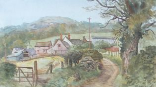 Arthur Miles (1905-1987) Farm in Ewyas Valley,