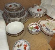 A Chinese porcelain part dinner set