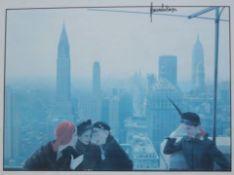 Norman Parkinson Photographs 1934-1984 Hamiltons 13 Carlos Place London W1 An exhibition poster