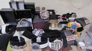 A collection of fashion watches including Next, Gossip, Accurist etc