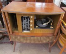 A Decca ffss model 300 walnut cased radiogram (sold as seen, untested)